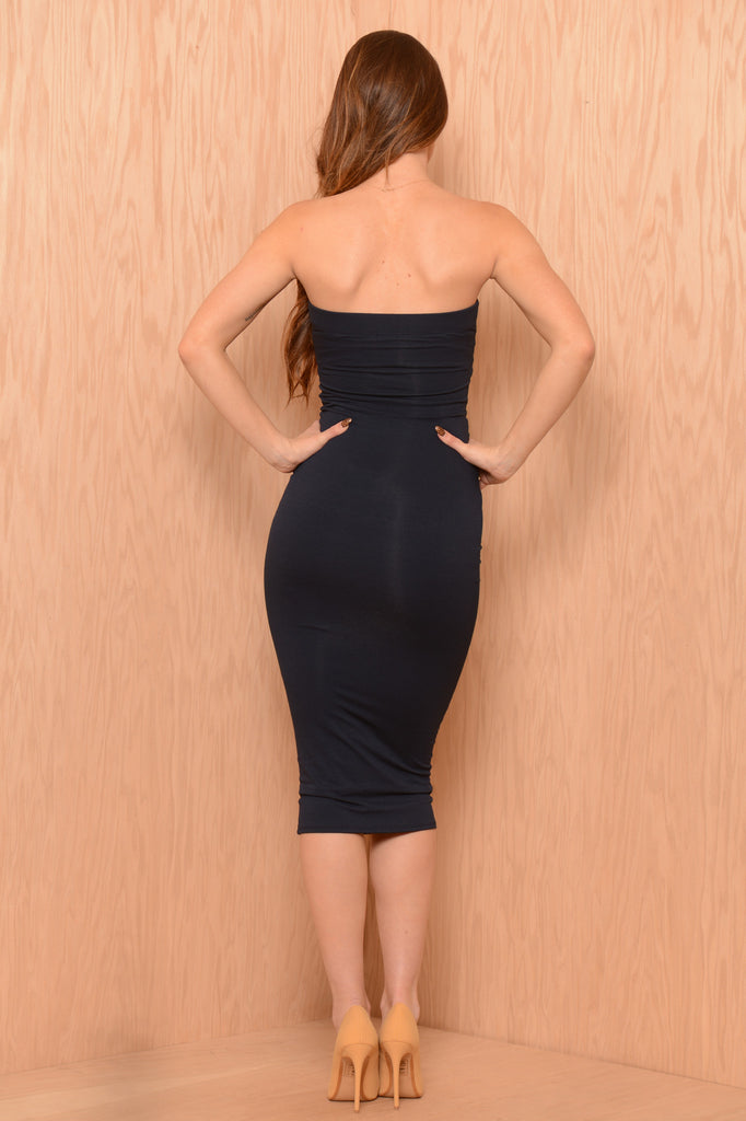 Eva Dress - Navy