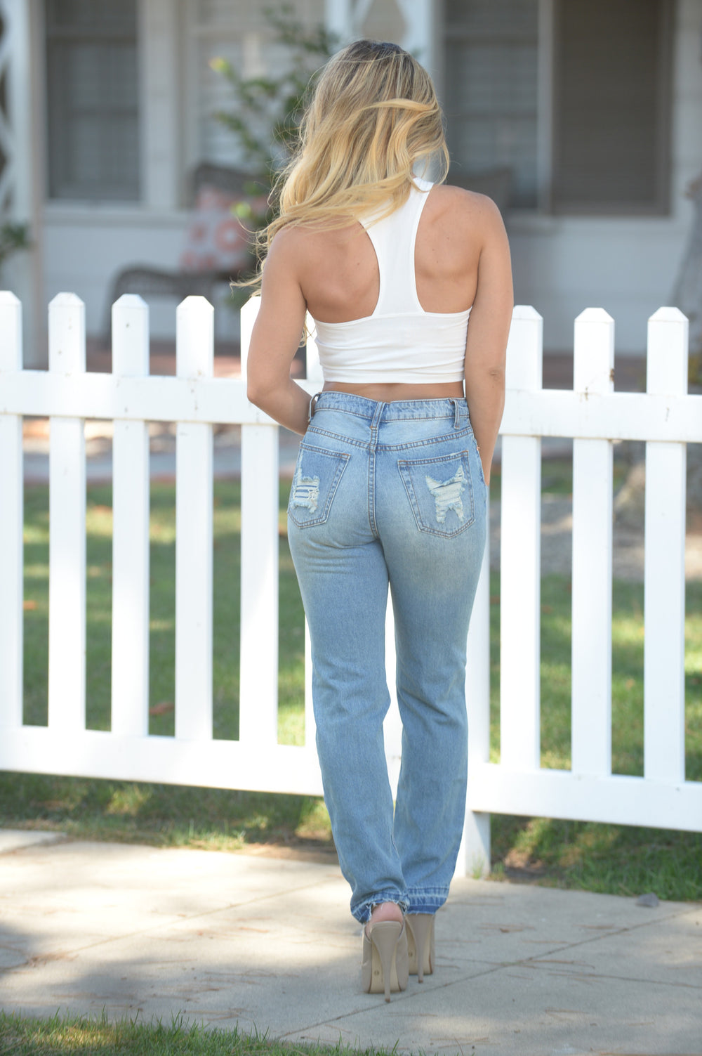 Ryan Boyfriend Jeans - Light
