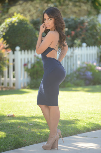 Nikki Dress - Navy