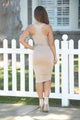 Kamryn Dress - Nude