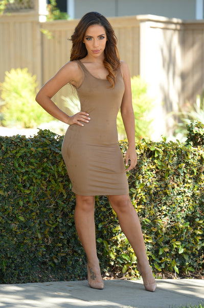 Leila Dress - Camel