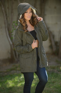 Hibernation Jacket - Olive