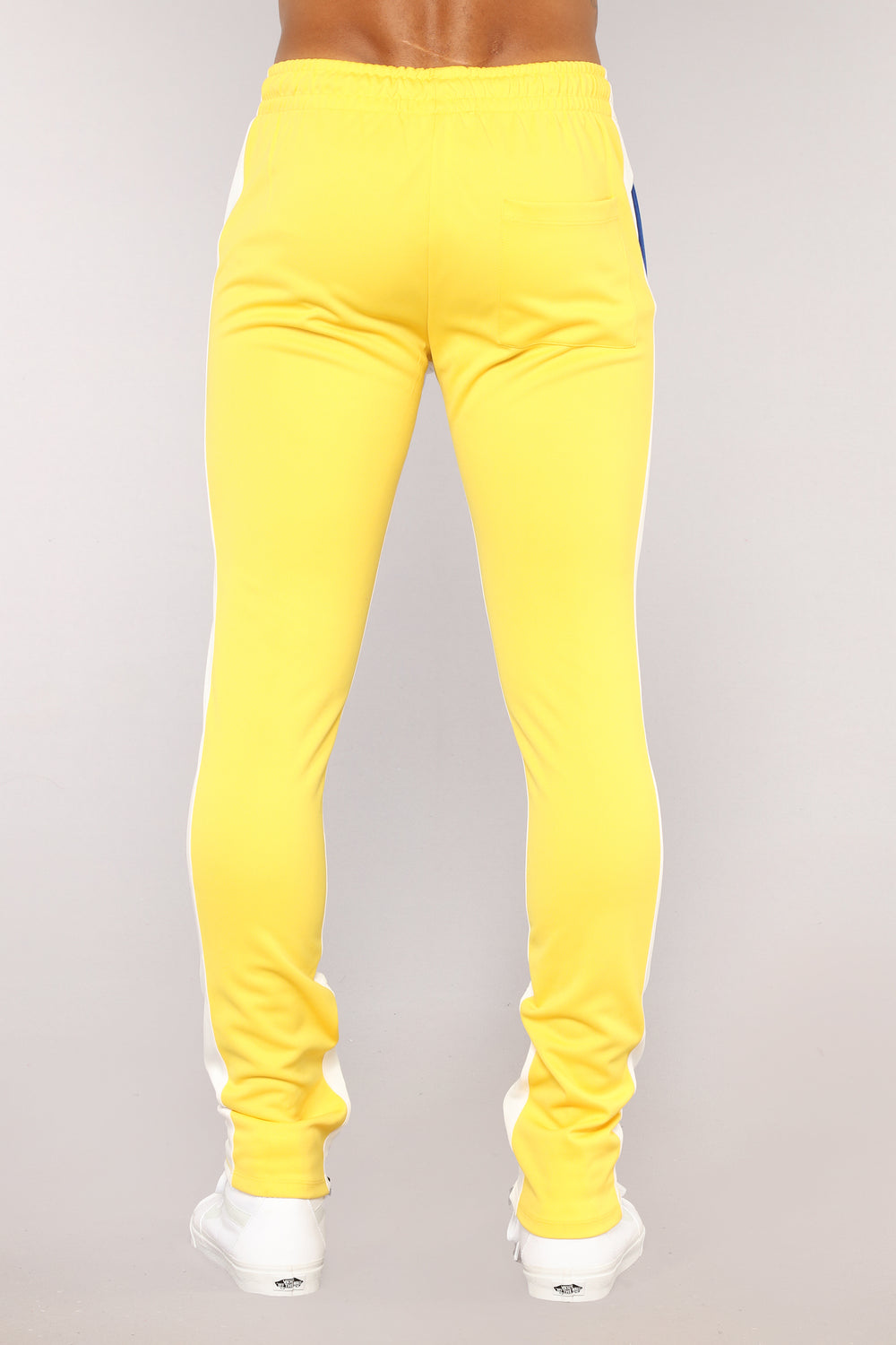 Union Track Pants - Yellow/Combo