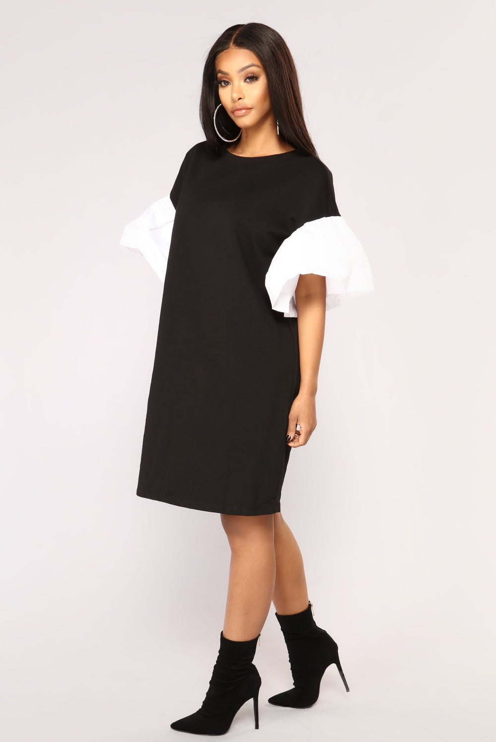 Madilyn Mini Dress - Black
