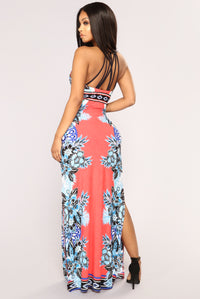Girl From Ipanema Maxi Dress - Coral
