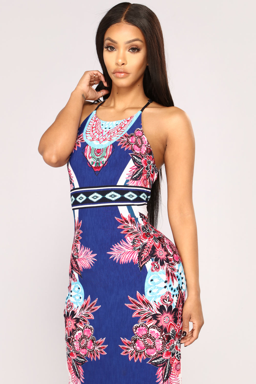 Girl From Ipanema Maxi Dress - Navy