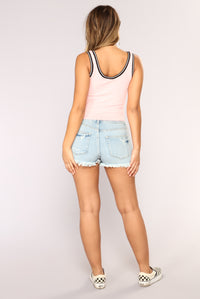 Carolyn Tank Top - Blush