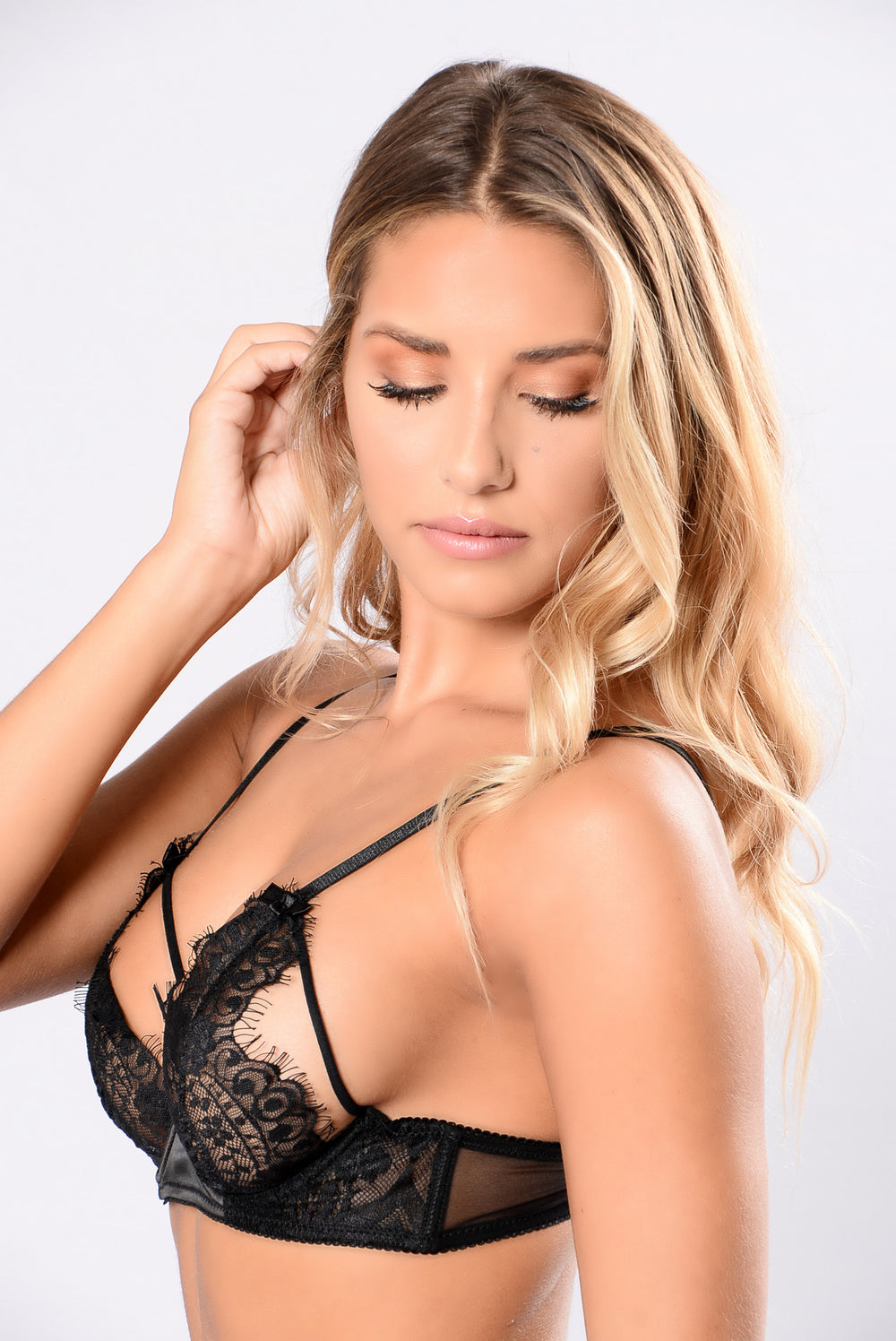 Bare It All Bra - Black