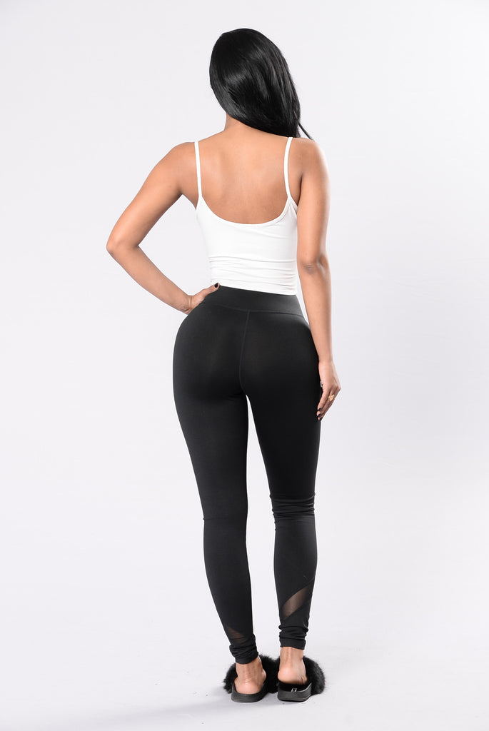Show You Everything I Know Leggings - Black