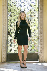 Fall In Love Dress - Black