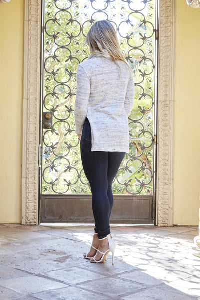 Snuggle Sweater - Heather Grey