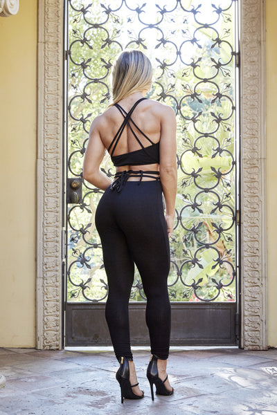 Crazy Sexy Cool Jumpsuit - Black