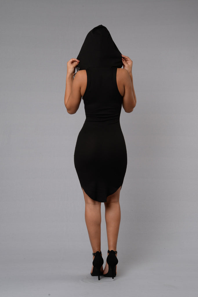 One of the Girls Dress - Black