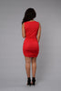 Mariquita Dress - Red