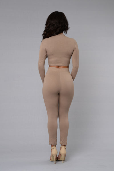 Leisure Legging - Nude
