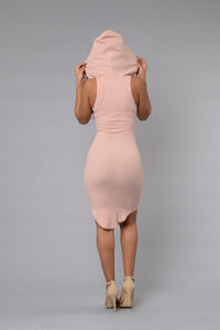 One of the Girls Dress - Dusty Pink