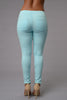 Cadet Pants - Aqua Blue