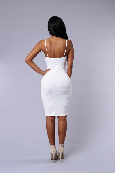 In the Mood Dress - White