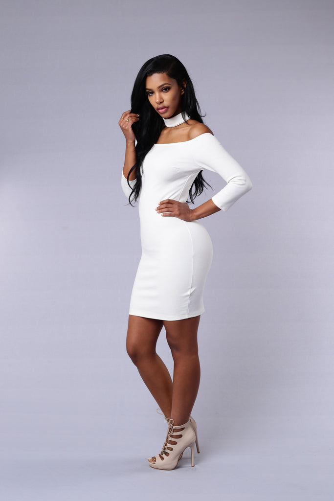 Cynthia Dress - Ivory