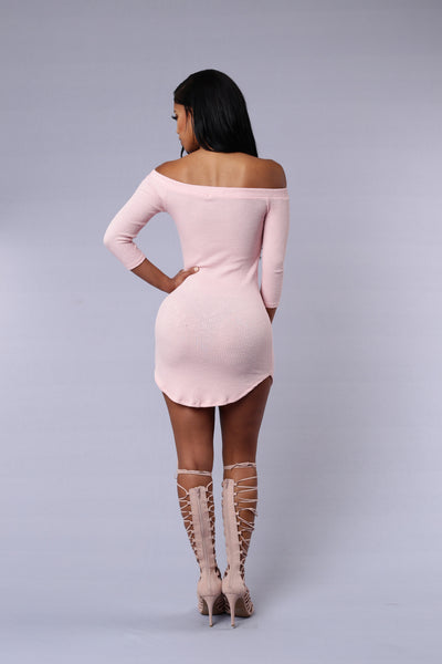 Roxy Dress - Light Pink