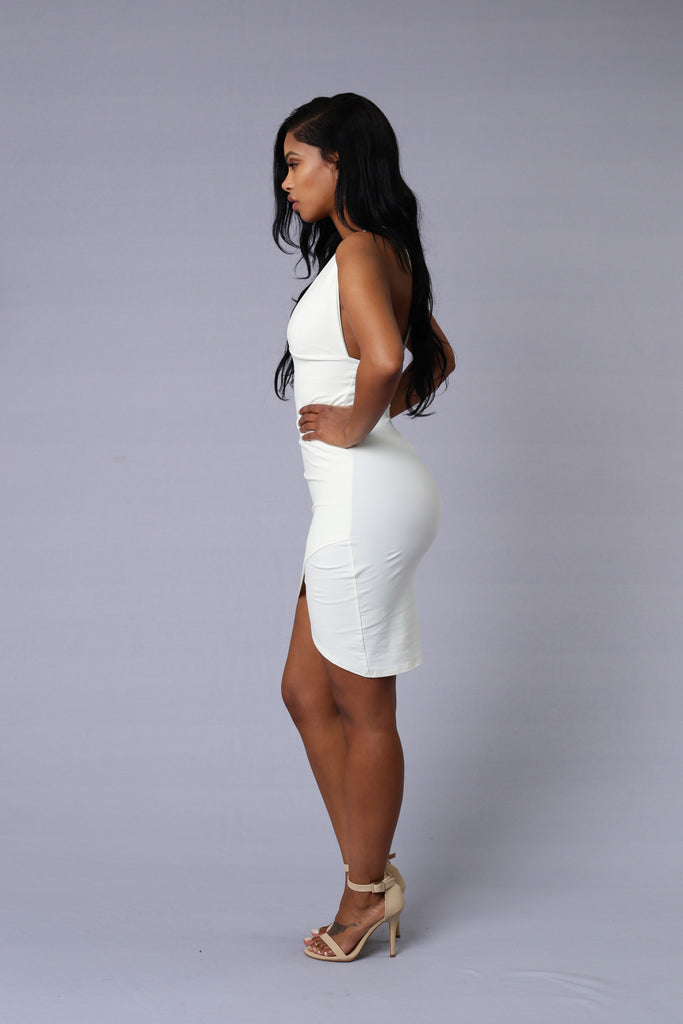Jenner Dress - White