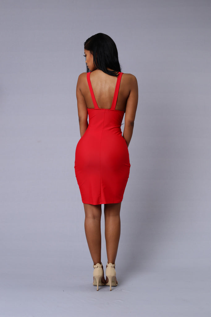 Jenner Dress - Red