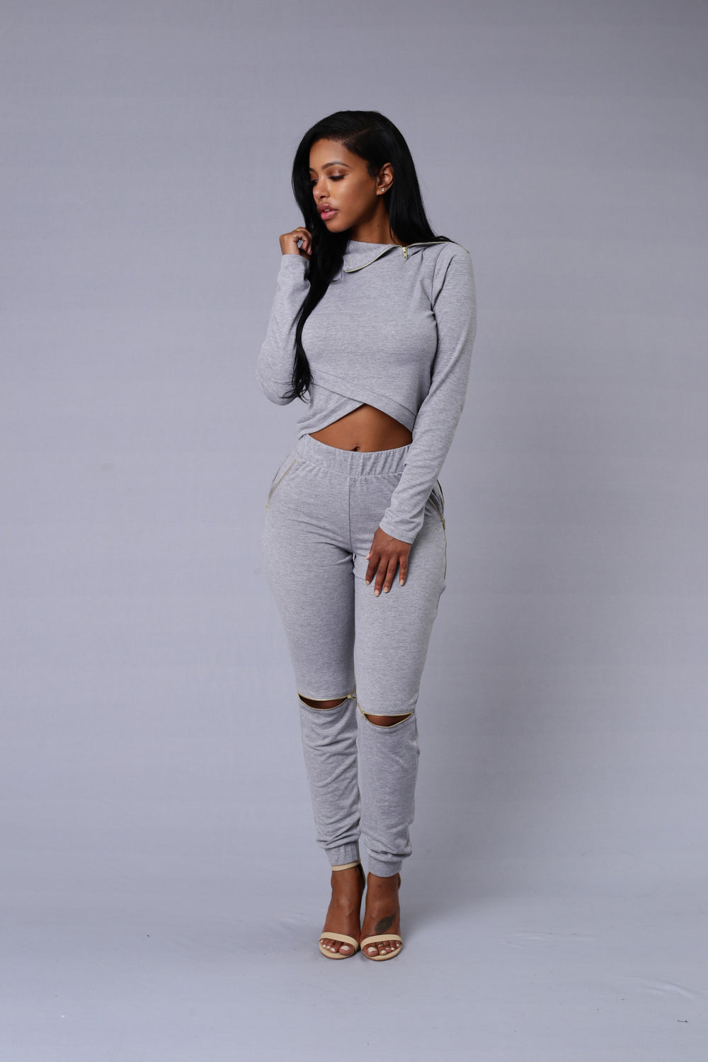 On the Go Hoodie - Grey