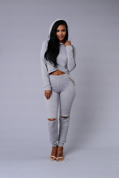 On the Go Pants - Grey