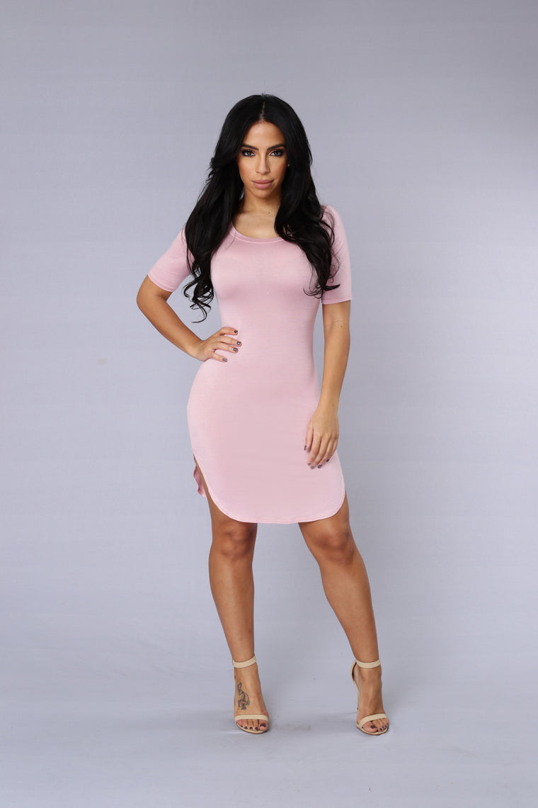 Cory Tunic Dress - Rose