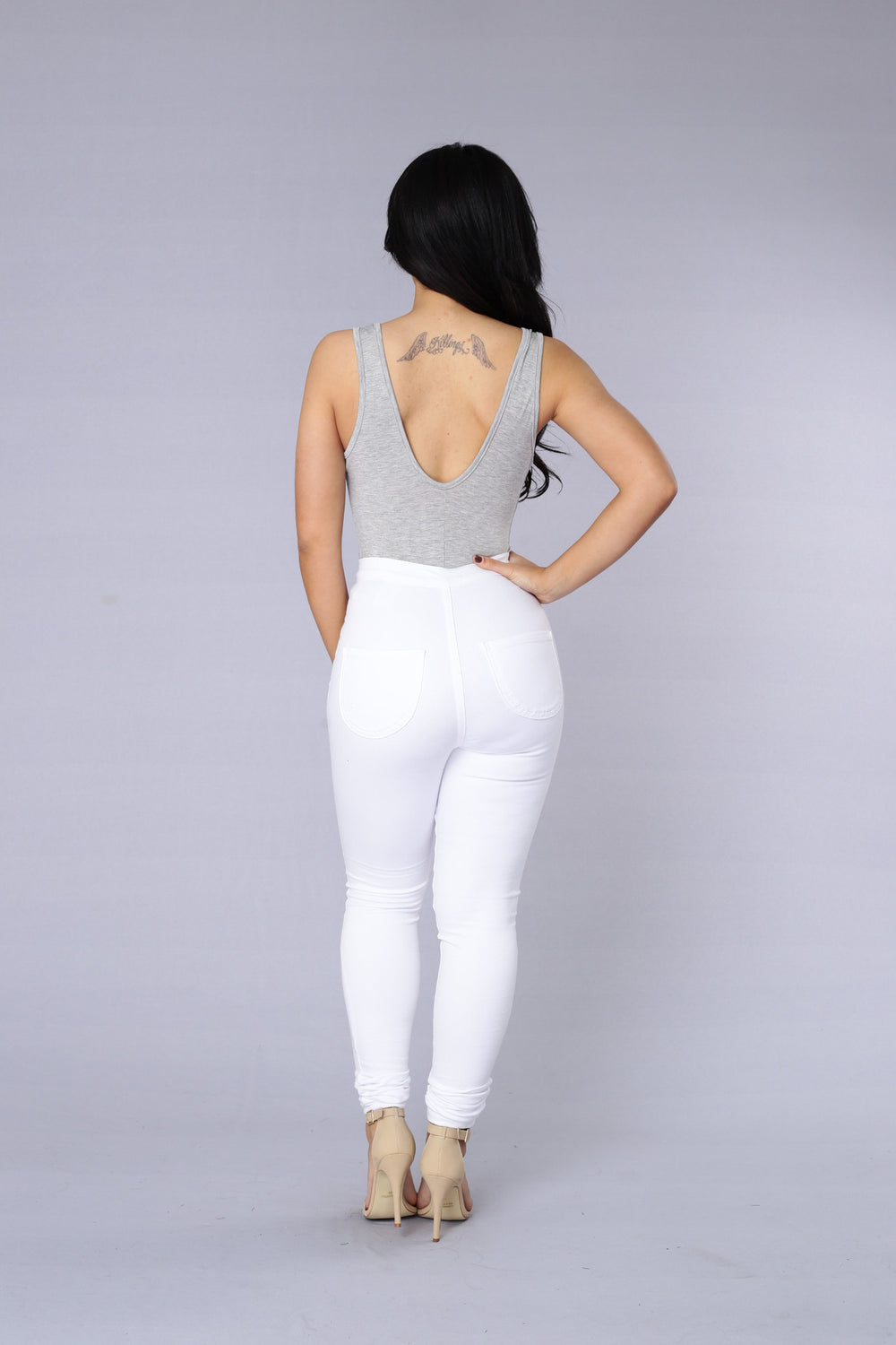 Antidote Bodysuit - Heather Grey