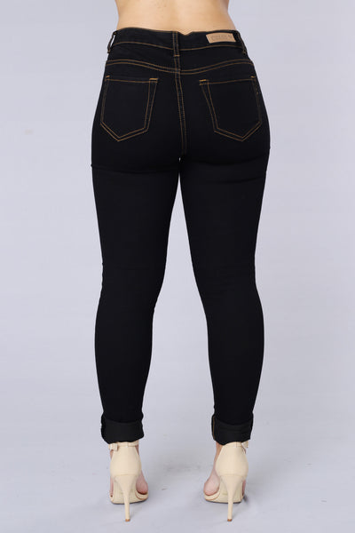Total Package Jeans - Black/Brown