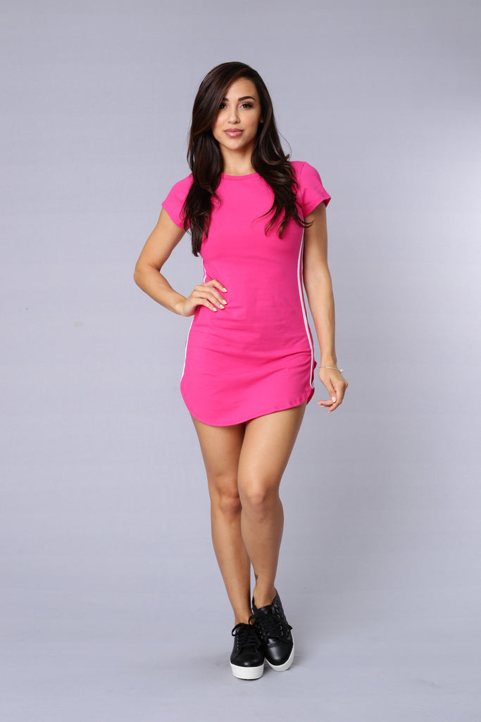 Hyphy Tunic - Fuchsia