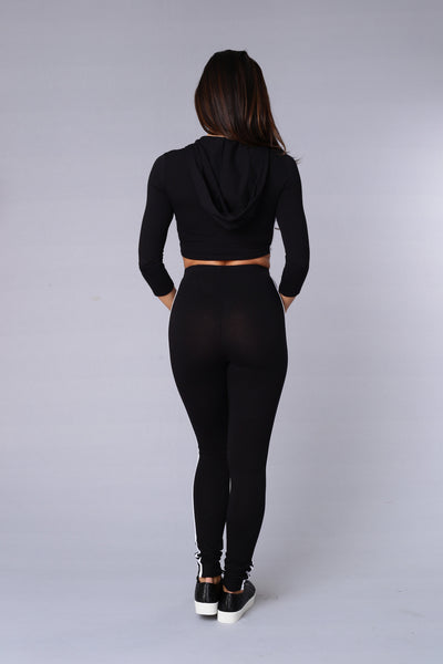 Walk this Way Legging - Black
