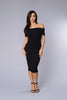 Magic Of The Night Dress - Black
