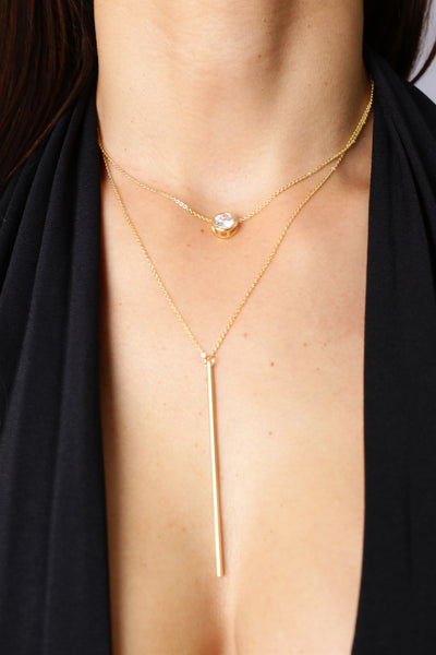 Layer Me Up Necklace - Gold