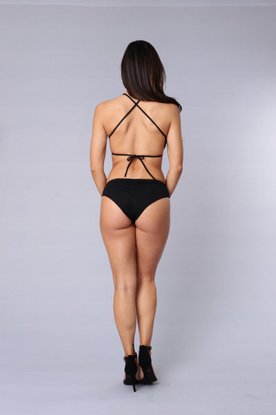 Tease Don't Touch Bikini - Black