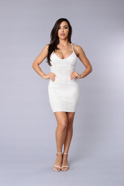 Mayfair Dress - White