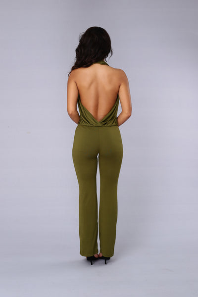 Georgia Jumpsuit - Olive