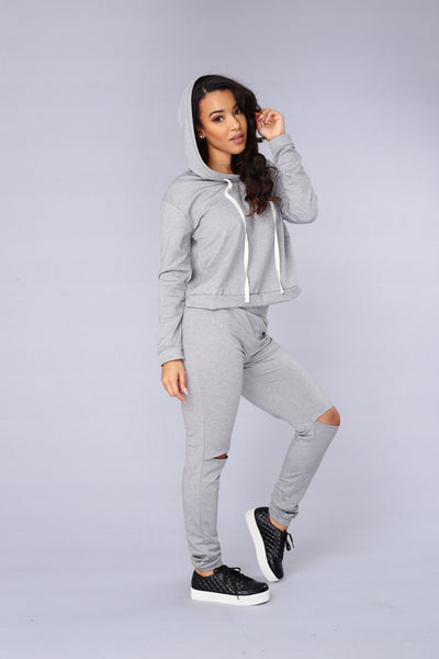 Tug of War Pants - Heather Grey