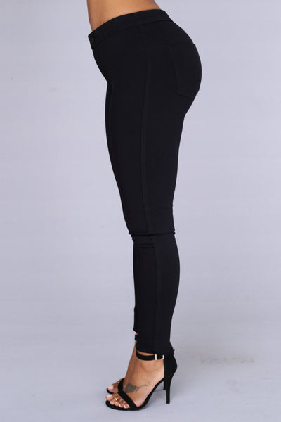 Hot Miami Styles high waist jeans create a butt lift for undeniable curves. Ankle length is all the rave now and added with rips and destroyed details. Styles you would see Kylie Jenner and Kim Kardashian wear. Black Denim Button Up Butt-Lifting Skinny Jeans $ Denim High Waist Butt-Lifting Ankle Skinny Jeans $