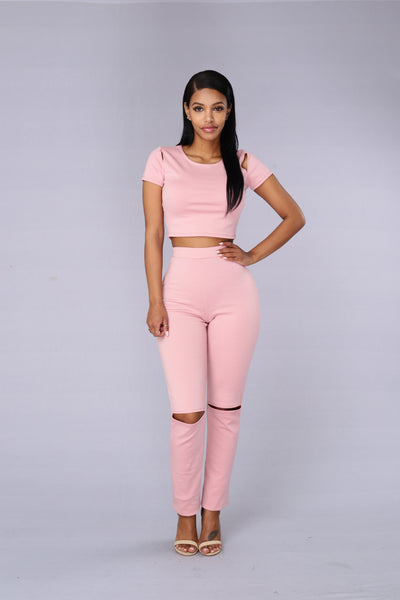 Bubble Pop Electric Top - Rose