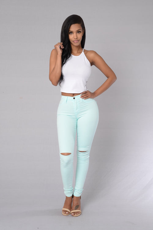 Canopy Jeans - Mint