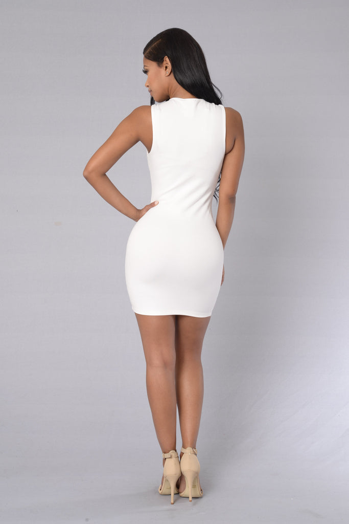 Twofold Dress - Ivory