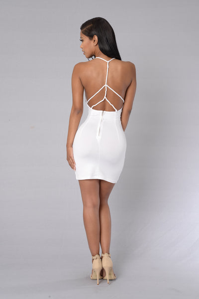 Brayden Dress - White