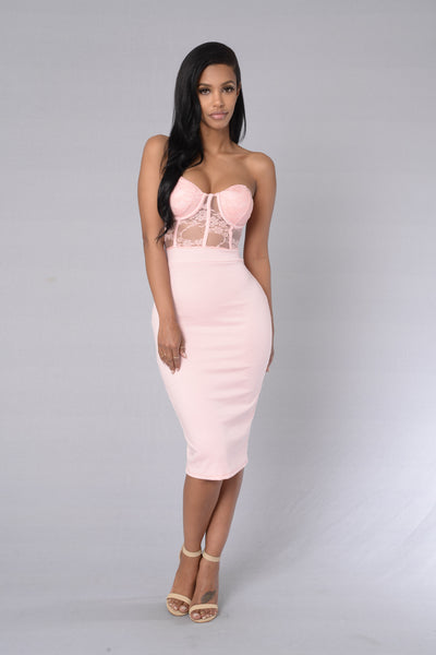 First Choice Dress - Blush