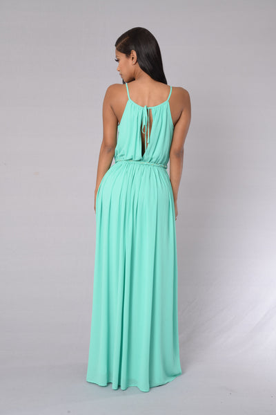 Aphrodite Dress - Aqua