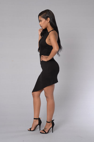 Lady At Play Dress - Black