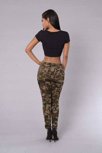 War Of The Worlds Pants - Camo