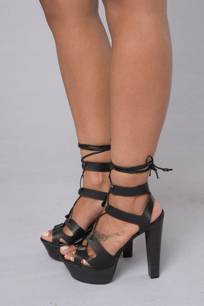 Freestyle Heel - Black