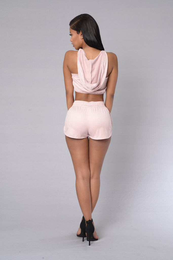 Spice Up Your Life Shorts - Pink Rose